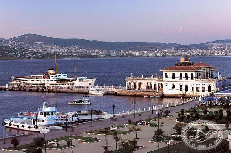 "Büyükada (meaning ""Big Island"" in Turkish). One of Princes' Islands in the Sea of Marmara."