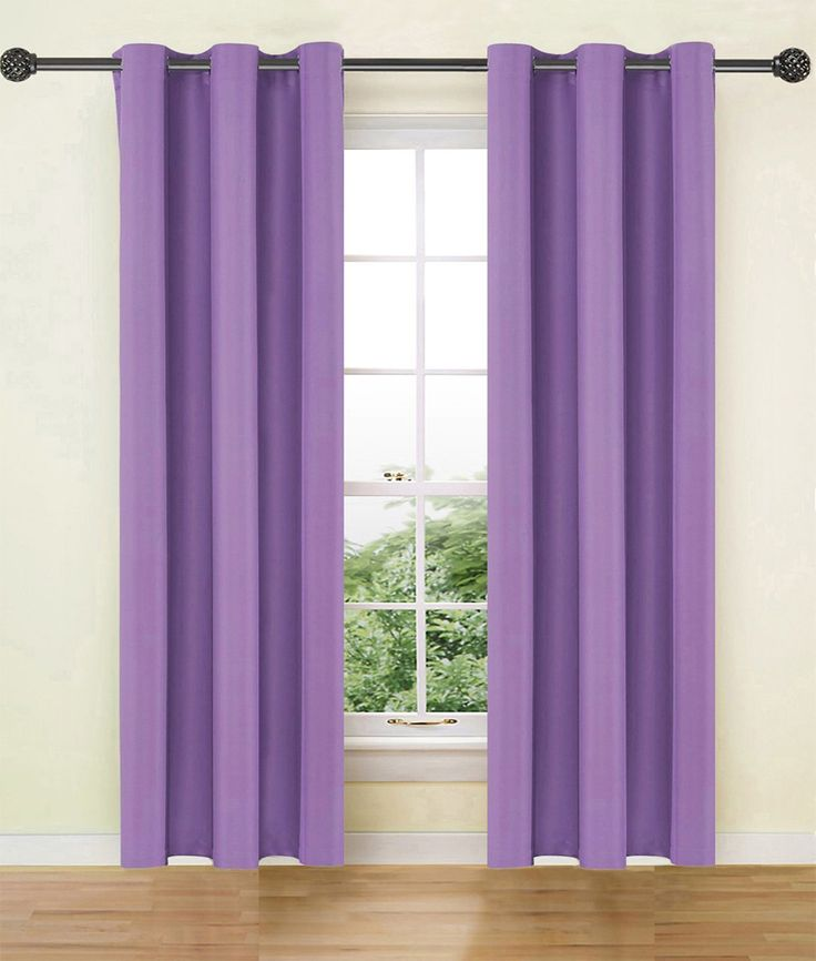"""Ifblue Solid Thermal Blackout Curtains 