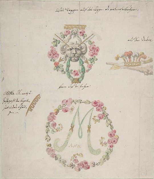 Attributed to Anonymous, German, 18th century   Ornamental designs for porcelain   18th century   The Met