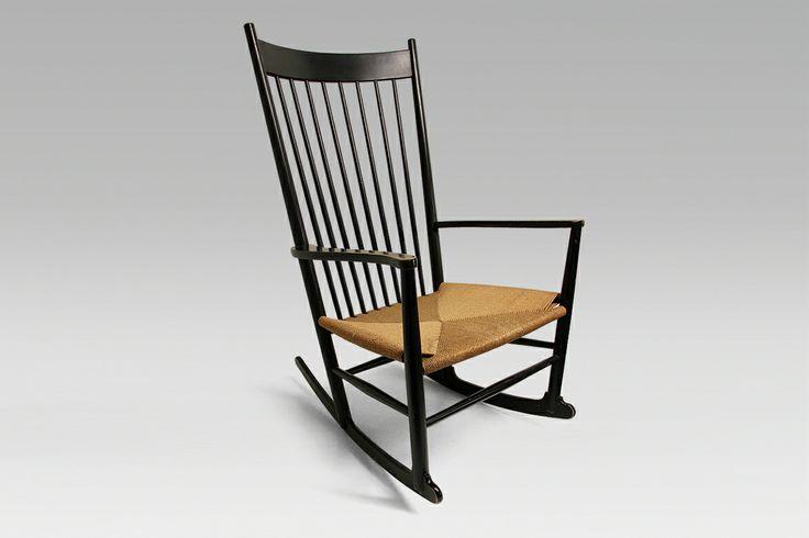 Vintage Wegner rocking chair.
