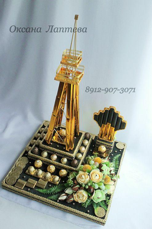 Gallery.ru / Фото #67 - Букеты из конфет 3 - laptewaoxana