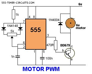 MOTOR PWM Circuit, for controlling stir plate speed