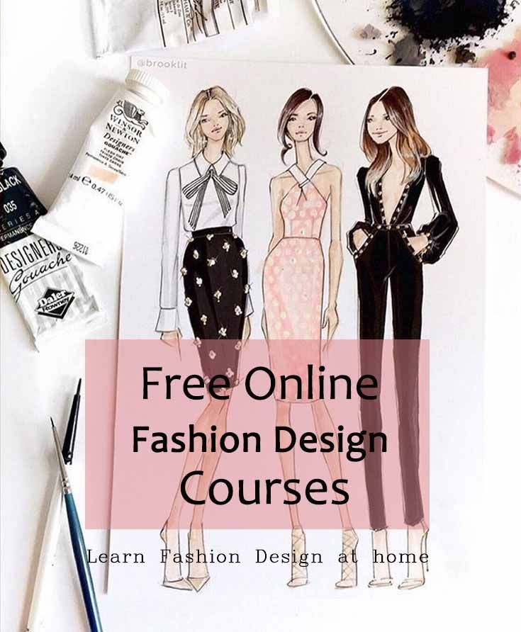 Free Online Fashion Design Courses Fashion Design Classes