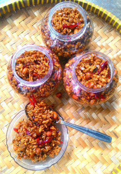 resepi ayam pedas indonesia  kartasura Resepi Biskut Nasi Lemak Enak dan Mudah