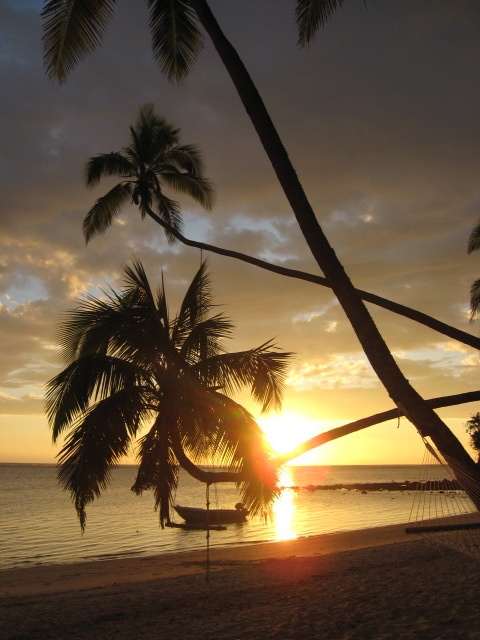 My favorite time of day when we were in Fiji, sunset....so beautiful!
