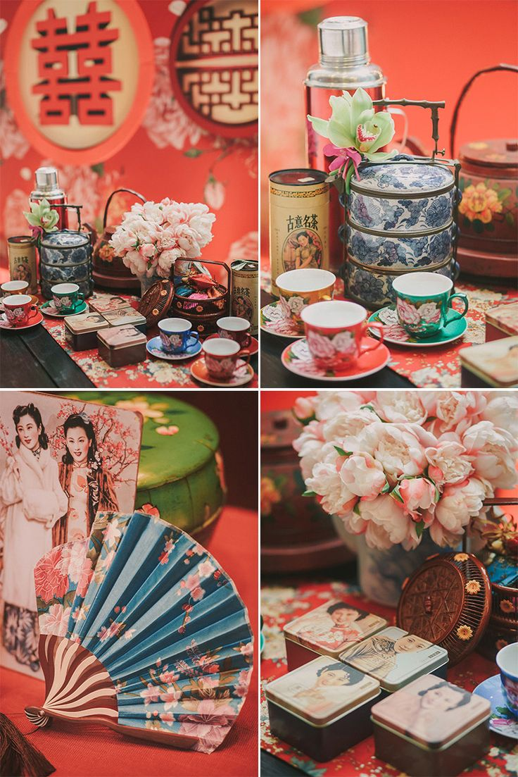 Old Shanghai Theme - Photo Booth Soft Props