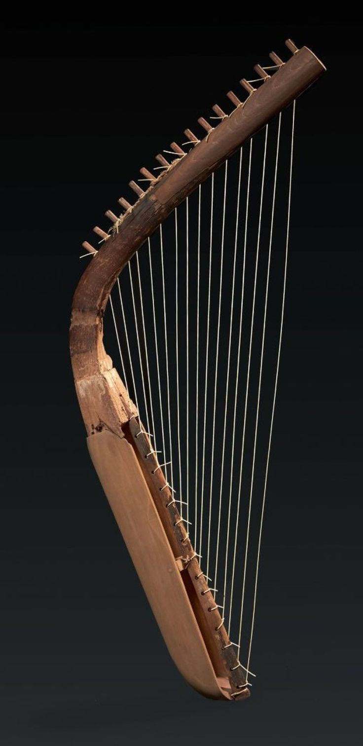 Arched Egyptian Harp, New Kingdom, 16th-11th Century BC