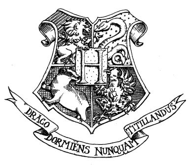 With the Hogwarts banner above it also...not sure where to get it...ankle?