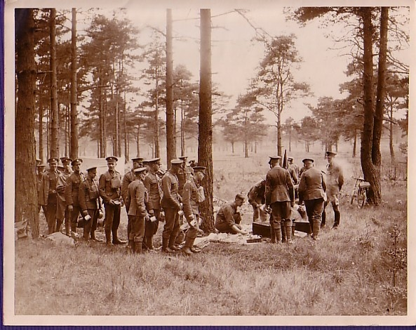 The 1st battalion of the Scots Guards are undergoing training on Chobham Common , Surrey. 1934: Scottish Military, Scot Guard, 1St Battalion, Chobham Common, Undergo Training, Military Uniforms