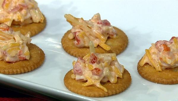 the chew | Recipe  | Carla Hall's Pimento Cheese