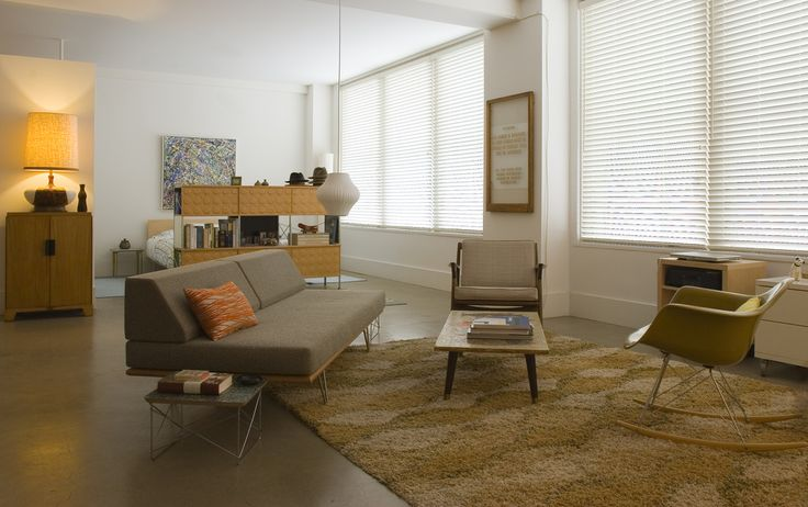 Modernica Case Study Daybed Corner Chair           Dane One Arm Sofa with Chaise by TrueModern