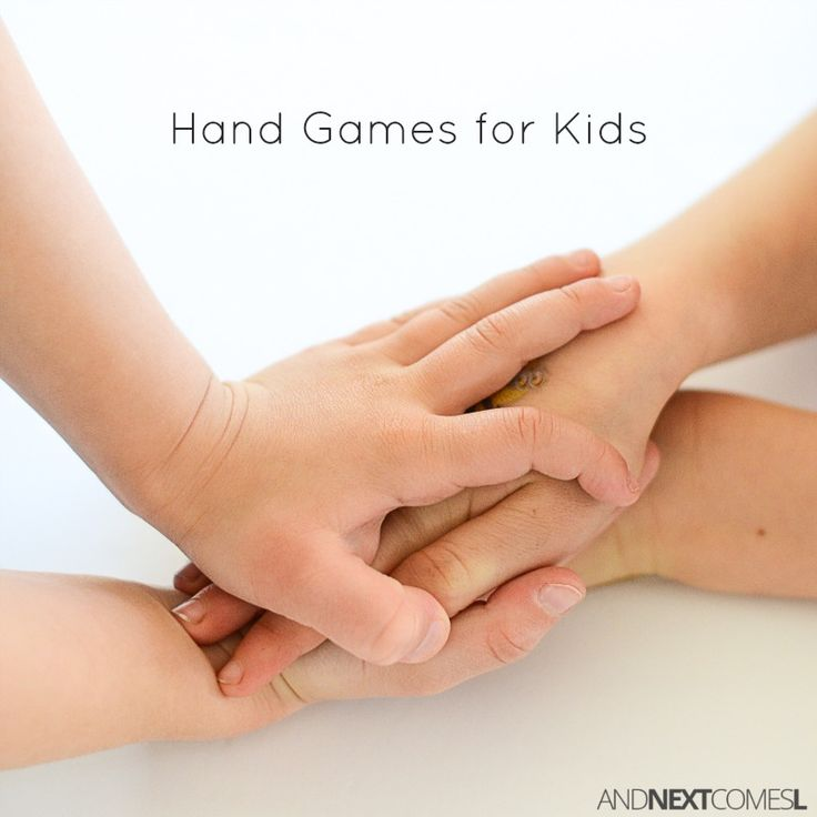Easy hand games for kids - perfect brain break ideas for fidgety kids while waiting in line from And Next Comes L