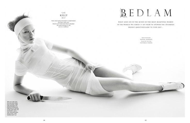 Title: Bedlam Magazine: Love #7 Spring/Summer 2012 Models: Kelly Mittendorf