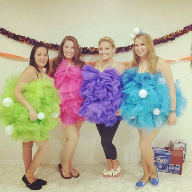 One of the best parts of the Halloween season is coming up with ideas for group costumes to wear out with your girls.