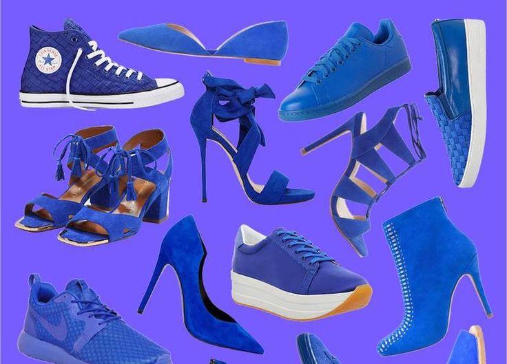 Kornblumenblau ist keine Farbe, die man trägt, wenn man nicht auffallen will. Und genau das wollen wir jetzt, also her mit der Knallfarbe!