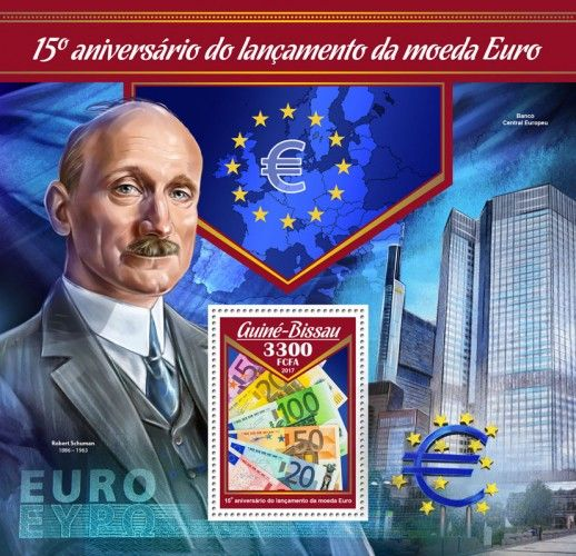 GB17003b 15th anniversary of launch of Euro currency