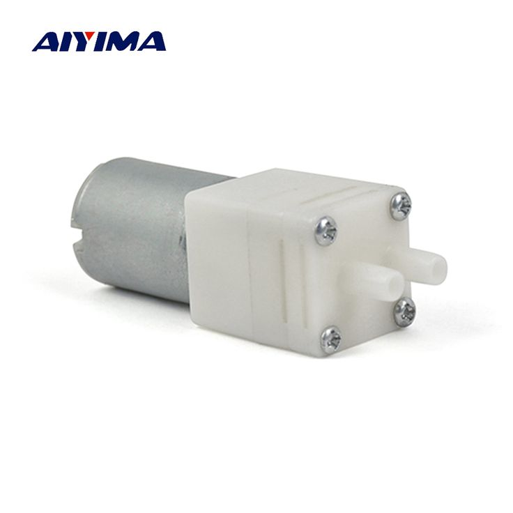 Aiyima DC12V Water Pump Miniature Electric Pumps Water Diaphragm Pumps DIY Model Custom Small Pumps Self-Suction. Yesterday's price: US $6.88 (5.63 EUR). Today's price: US $6.19 (5.07 EUR). Discount: 10%.