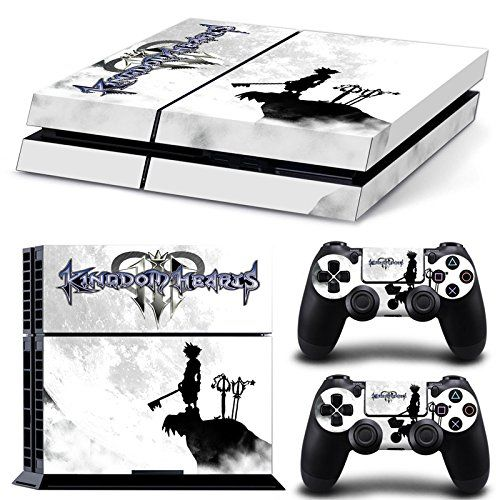 Ps4 Playstation 4 Console Skin Decal Sticker Kingdom Hearts Design  2 Controller Skins Set >>> Find out more about the great product at the image link.Note:It is affiliate link to Amazon.