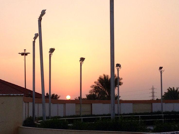 Riyadh sunset ❤️