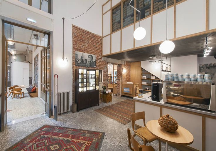 TOMS assimmilate the fabric of the city into their Thessaloniki flagship store, café and events space...