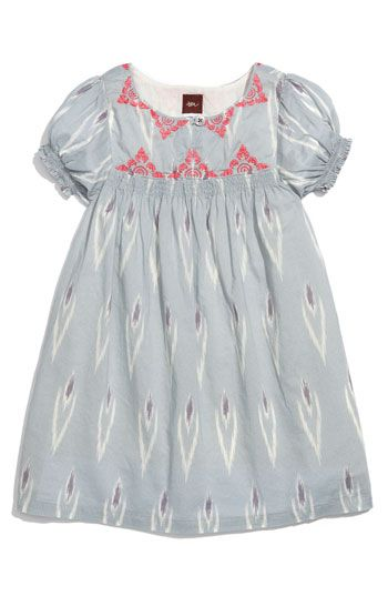 Tea Collection Embroidered Dress (Toddler) | Nordstrom
