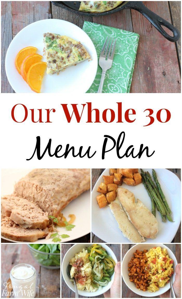 Más de 25 ideas increíbles sobre Planes de menús para ...