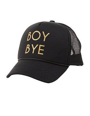 Boy Bye Trucker Hat #CharlotteLook