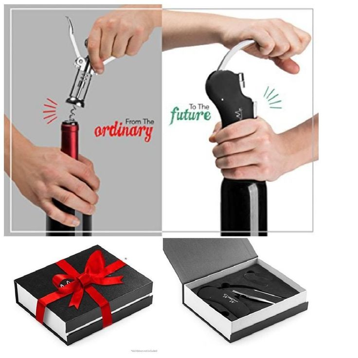 Rabbit Wine Bottle Opener Screwpull Pressure Handle Corkscrew Durable Gift Pack #MosesMo