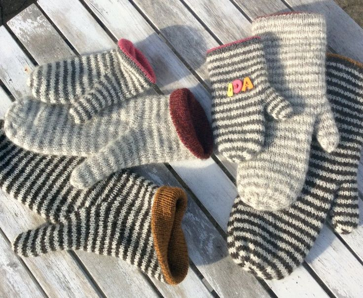 Luffe - mittens with the unique thumb gusset