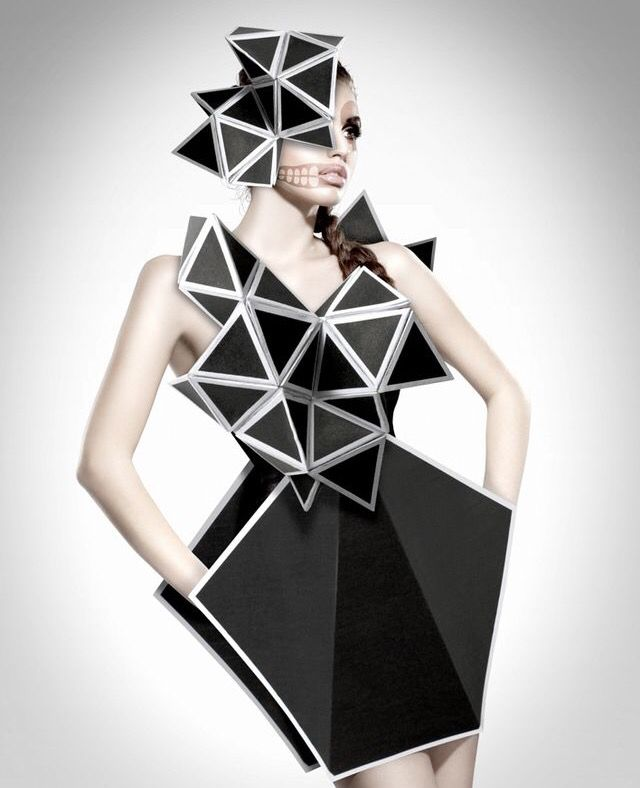 Geometrie dress