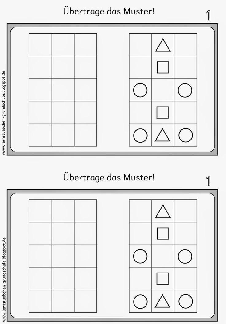 Lernstübchen: Muster übertragen für Linkshänder (1) Da gibt es noch mehr Sachen für Linkshänder!