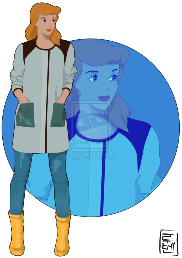 1: Cinderella - Cinderella / Check out these 14 Disney characters as modern-day college students. What do you think – did they nail it? http://bit.ly/16AVnkJ