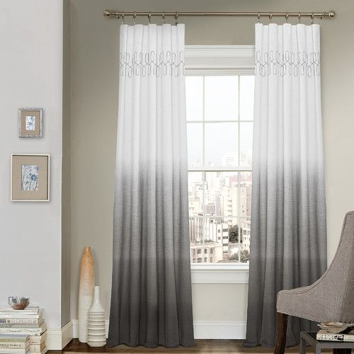 17 best ideas about gray curtains on pinterest window. Black Bedroom Furniture Sets. Home Design Ideas