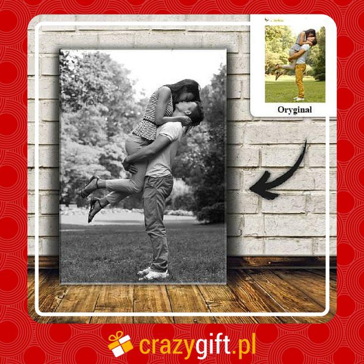 Czarno biały foto-obraz na płótnie ze zdjęciem to znakomity #pomysł na #prezent dla chłopaka, przyjaciela, dziewczyny czy przyjaciółki. http://bit.ly/1ym337B