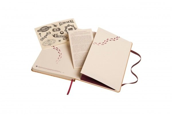 Carnet Moleskine Harry Potter