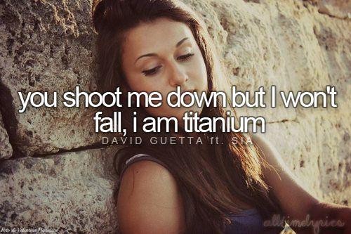 Titanium - David Guetta ft. Sia