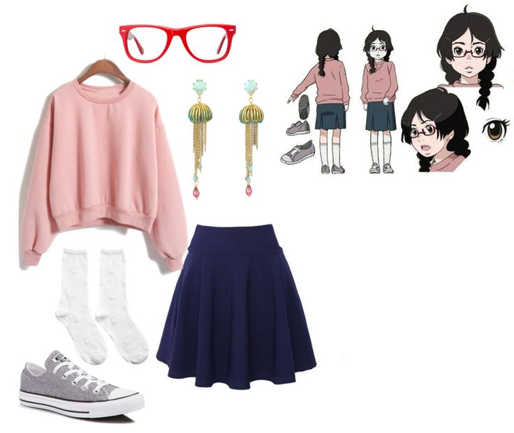 fine casual outfit anime