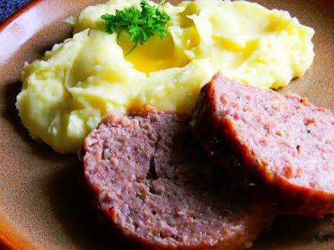 Nejlepší domácí sekaná (best homemade meatloaf) - videorecept - YouTube