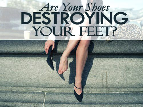 Women, listen up! If you wear high heels or narrow-toed shoes, you may be years or even months away from legitimate foot pain or toe pain. Let's talk about bunions. With a bunion, you will begin to experience pain on the outside of your foot as well as at times within the toe joint and even the entire toe. Click here to know more about bunions. http://lifestyledynamics.com/are-your-shoes-destroying-your-feet-bunions/ #health #healthyfeet #healthylifestyle #lifestyledynamics