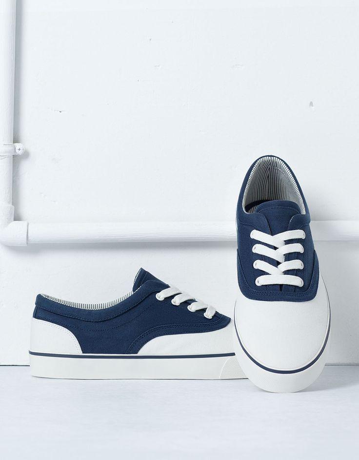 Sneaker tessuto combinato - Scarpe - Bershka Italy