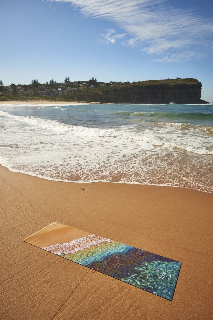 REMY X PRAIA - Limited edition RAINBOW OCEAN Natural Rubber Yoga Mat. Available in store now for $120.00 #yoga #natural #australia #PRAIAyoga #PRAIA