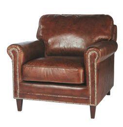 Leather armchair maisons du monde fauteuil sinatra 800 - Fauteuil emmanuelle maison du monde ...