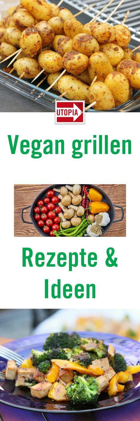 Vegan Grillen muss nicht langweilig sein: Mit diesen leckeren Rezepten für Gemüse und Saucen wird der Grillabend auch ohne Fleisch oder Käse ein Erfolg.