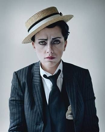 Drag King-ing ~ Scarlett Johanssen as Buster Keaton