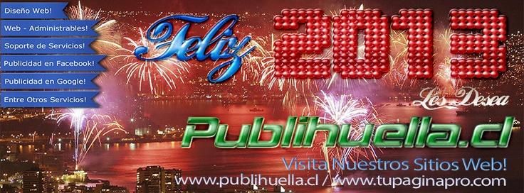 Feliz 2013 a Todos Nuestros Amigos de Twitter y Facebook!! que el 2013 sea un Excelente año pata todos!!