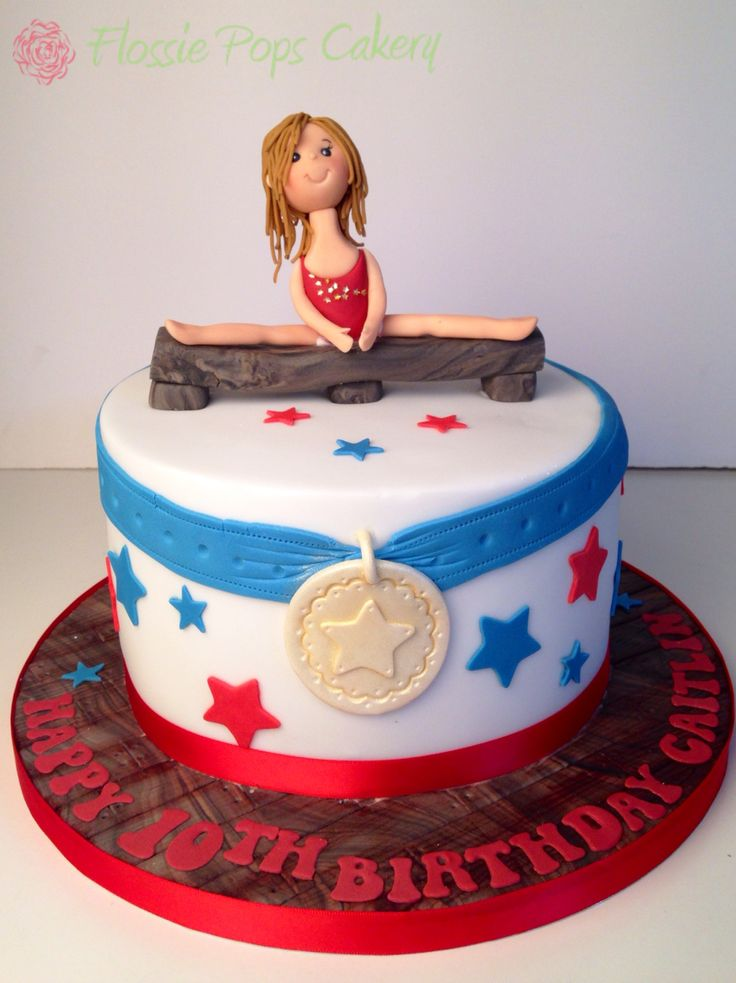 Gymnastic Cake Decorations Uk : 17 Best images about Gymnastics cakes on Pinterest ...