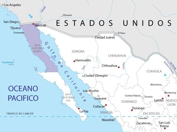 Baja California Norte, México.