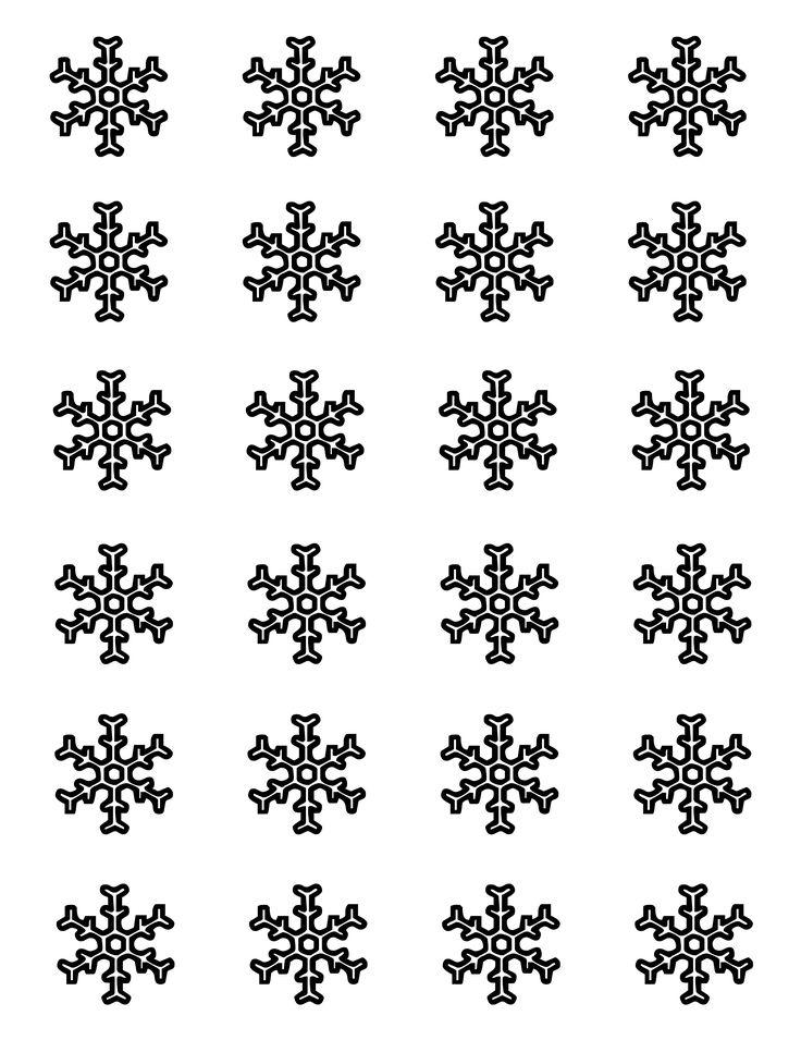 Snowflake Template For Royal Icing Royal Icing Snowflake