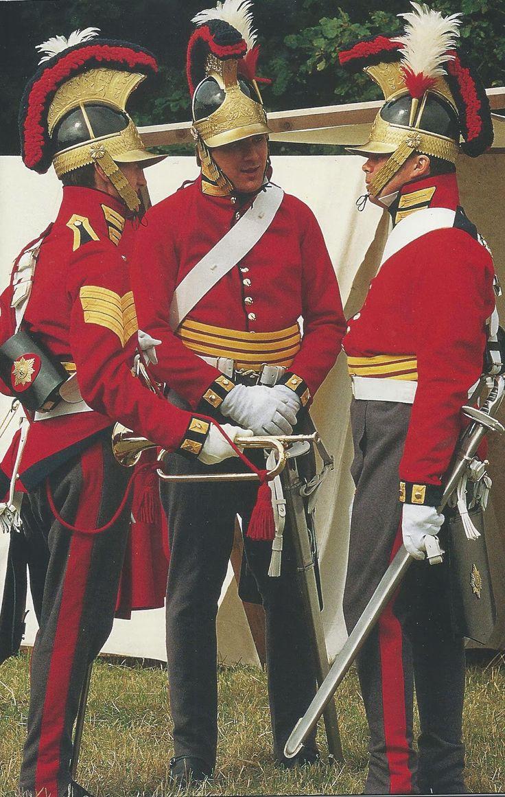 British Lifeguards reenactors  (Waterloo Project: Horse Guards)
