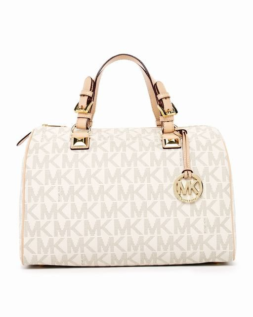 Michael Kors Grayson Großes Logo Schulranzen Vanille Pvc deutschland #fashionbag#jewellery|#jewellerydesign}